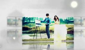 会声会影超唯美婚礼相册视频模板
