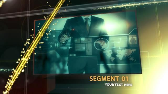 AE企业宣传视频模板栏目包装模板