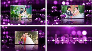 婚礼预告开场会声会影婚庆片头模板