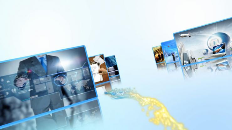 简洁大气企业发展历程AE模板