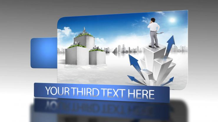 简洁现代企业宣传片AE视频模板