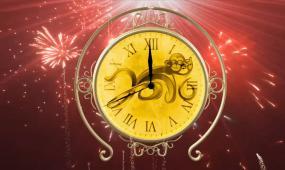 会声会影晚会新年倒计时模板