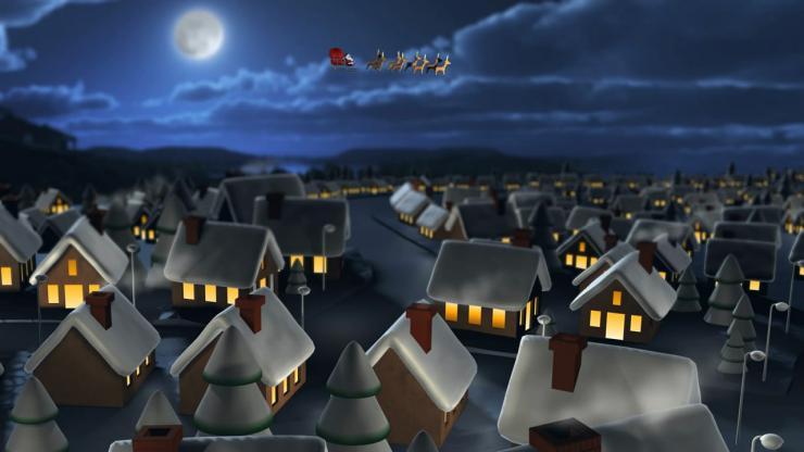 圣诞节卡通动画视频