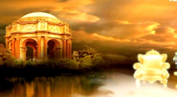 古堡宫殿视频背景素材