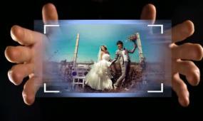会声会影婚礼魔术手婚礼展示大气模板