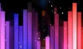 超炫动感灯光秀劲歌热舞酒吧夜店led大屏幕高清视频素材
