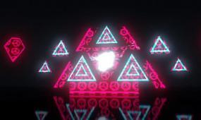 动感灯光秀LED背景视频爵士舞蹈街舞酒吧蹦迪屏幕舞台素材
