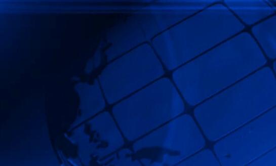 蓝色背景球体旋转视频素材