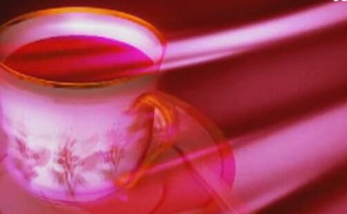 咖啡杯旋转视频素材
