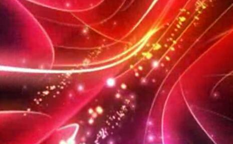 红色光线光束视频素材