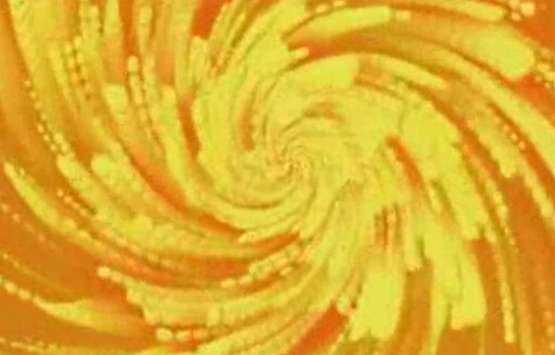 黄色线条视频素材