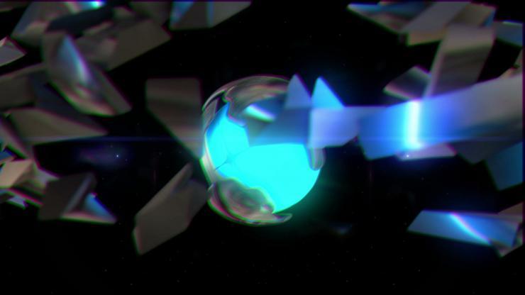 酒吧 夜店 高清 动感 LED 背景 金属球 方块