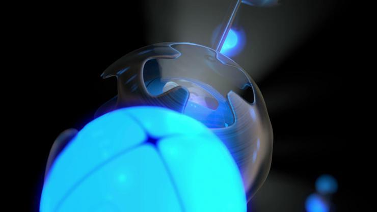 酒吧 夜店 高清 动感 LED 背景 镭射 光球 旋转