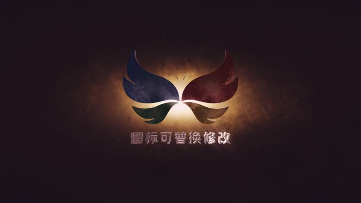 震撼大气logo标志开场片头模板