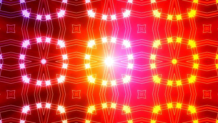炫丽万花筒LED视频素材