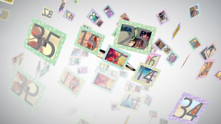 儿童婚礼家庭纪念通用相册模板