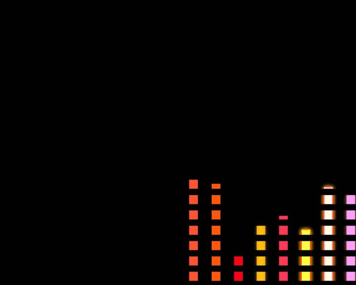 音频动态指示-带通道