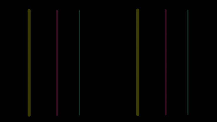 彩色线条左右扫描
