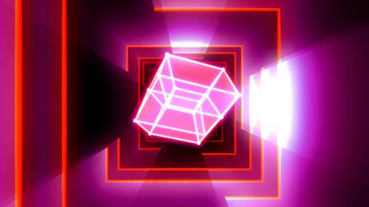发光立方体