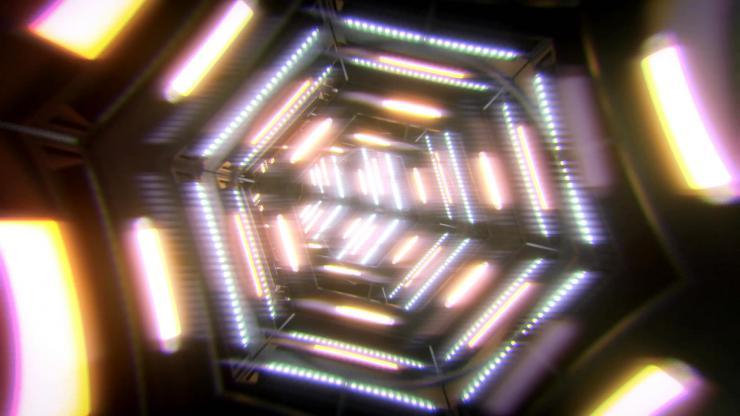黄色LED视觉冲击2K超清