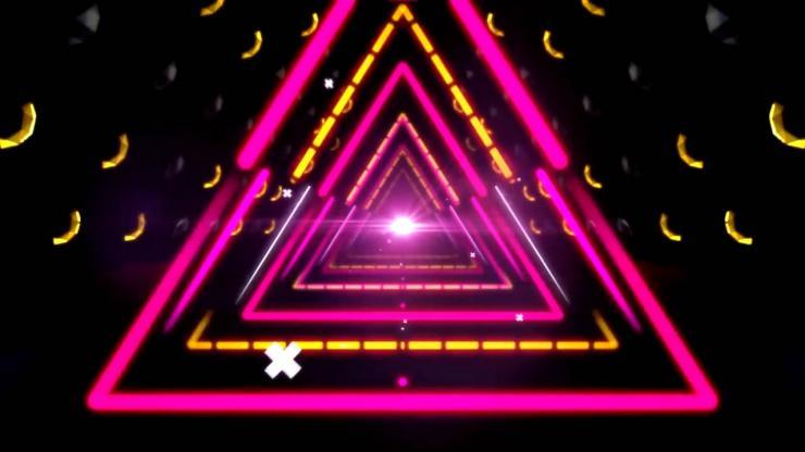 大气三角形隧道