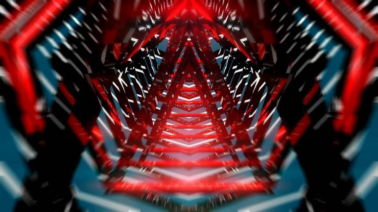 三角隧道视觉冲击