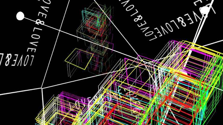 创意几何体绘制