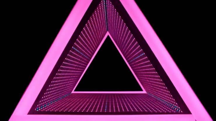 闪耀三角形隧道