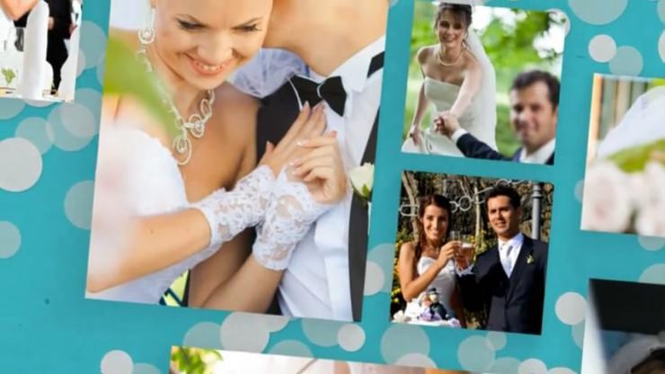 完整婚礼视频相册制作包装工程模板
