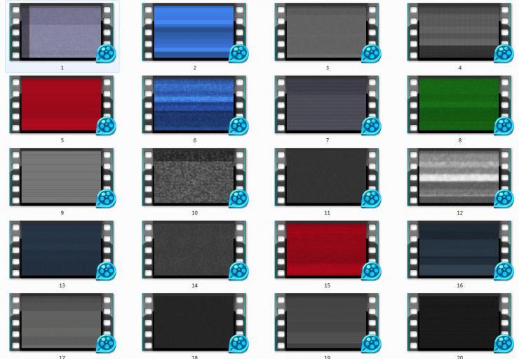 20款纹理视频包模板