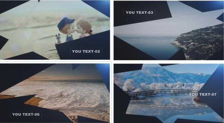 大气edius遮罩光效图文介绍宣传视频模板