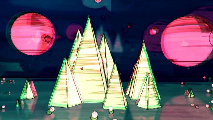 创意3D金字塔
