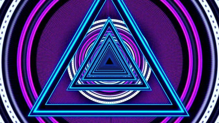 三角形隧道