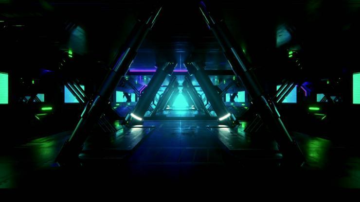 3D隧道震撼