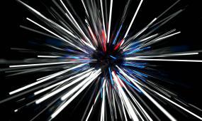 小球旋转激光