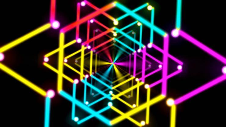 闪光六角形开场