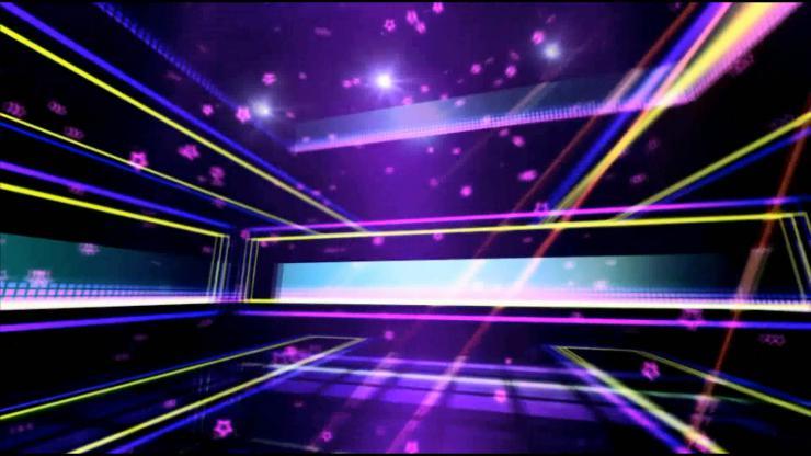 年会演出 舞蹈歌唱   LED大屏幕动感素材