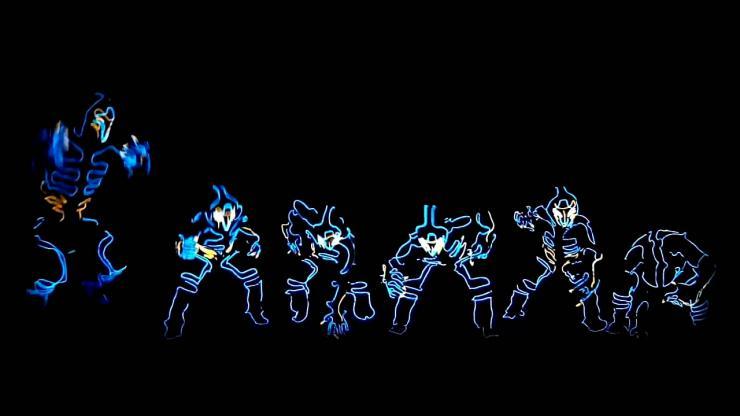 炫酷机器人舞蹈