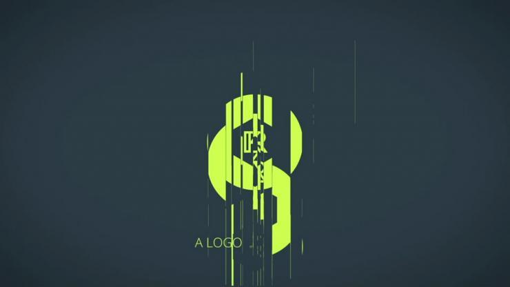 变形logo演绎动画片头模板