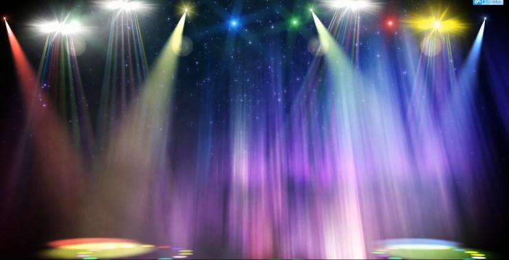 新年经典素材led大屏幕晚会视频