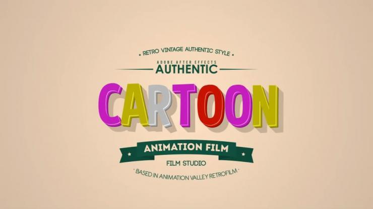 25个文字标题动画板