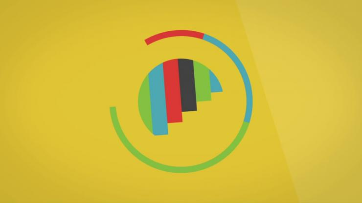 简洁logo演绎ae模板