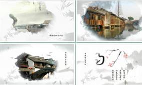 edius中国风水墨宣传视频模板