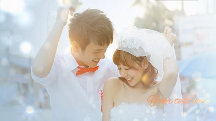 梦幻唯美婚礼相册