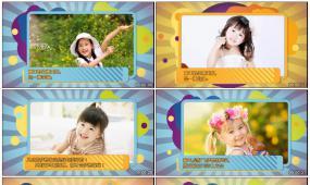 w15-童真稚趣 儿童成长视频 六一片头模板