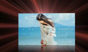 会声会影大气动感美女写真相册视频模板