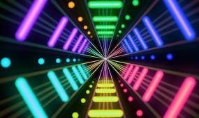 LED夜店背景素材