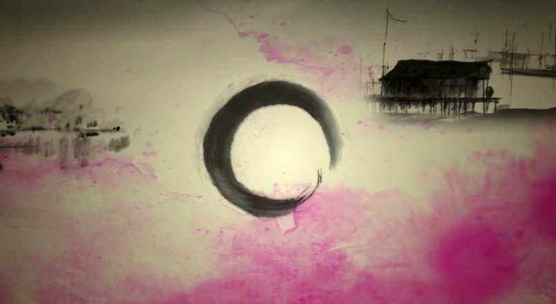 古典舞蹈中国风民族晚会演出LED视频背景