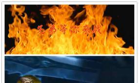 震撼热血3D游戏宣传展示模板