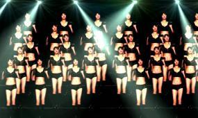VJ秀跳舞蹈劲舞人屏互动